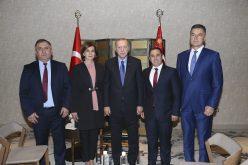 (Srpski) Predsjednik Republike Turske na sastanku sa predsjednicom Bošnjačkog nacionalnog vijeća
