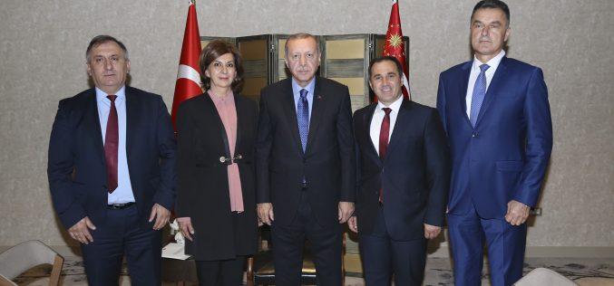 Predsjednik Republike Turske na sastanku sa predsjednicom Bošnjačkog nacionalnog vijeća
