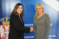(Srpski) Sastanak Paunović sa ambasadorkom Rumunije