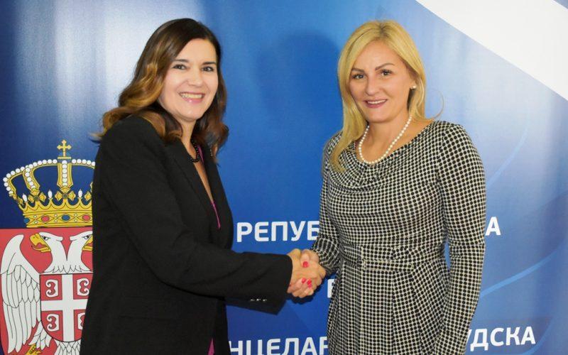 Sastanak Paunović sa ambasadorkom Rumunije