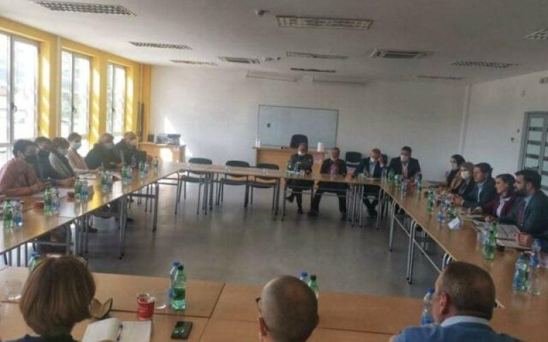 SASTANAK MINISTARKE ČOMIĆ SA PREDSTAVNICIMA ALBANSKOG NACIONALNOG SAVETA